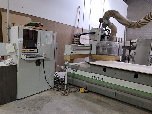Used CNC Router Biesse Rover B 4.40 FT-K 2006
