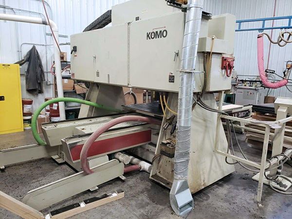 Used CNC Router KOMO Mach 3 2002