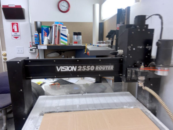 Used CNC Router Vision 2550 2010