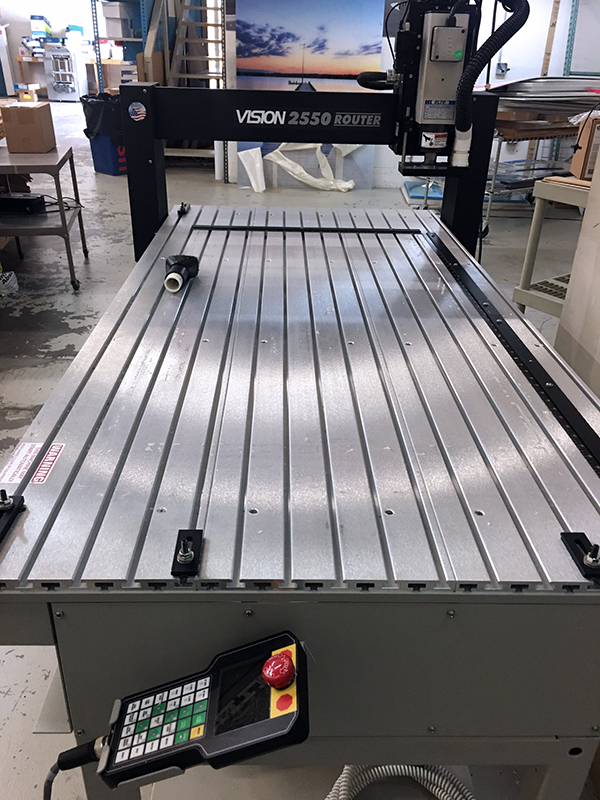 Used CNC Router Vision 2550 2017