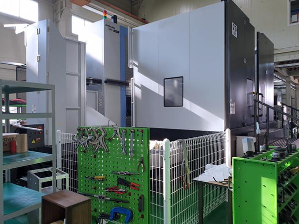 Used CNC Table Type Boring Machine Doosan DBC-250LII 2018