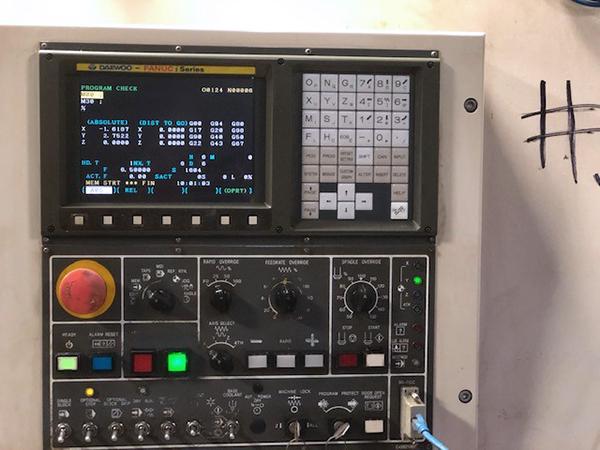 Used CNC Turning Center Daewoo DMV 3016 2002