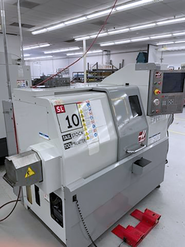 Used CNC Turning Center Haas SL-10 2009