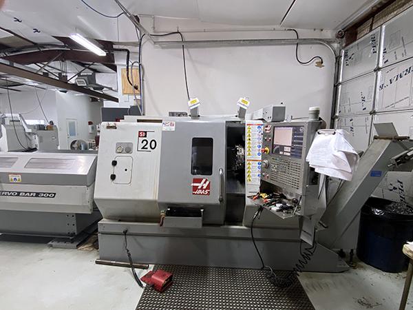 Used CNC Turning Center Haas SL-20 2007