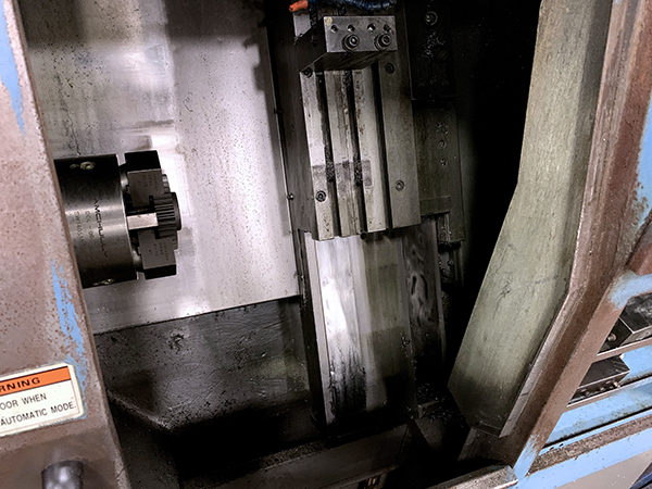 Used CNC Turning Center Hyundai HIT-400G 1999
