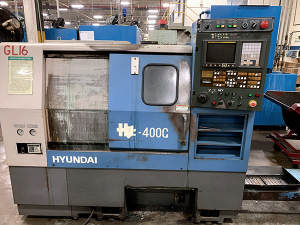 Used CNC Turning Center Hyundai HIT-400G 1999