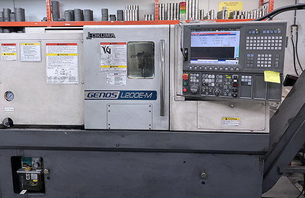 Used CNC Turning Center Okuma GENOS L200E-M 2011