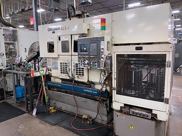 Used CNC Turning Center Okuma LFS12-2SP 2000
