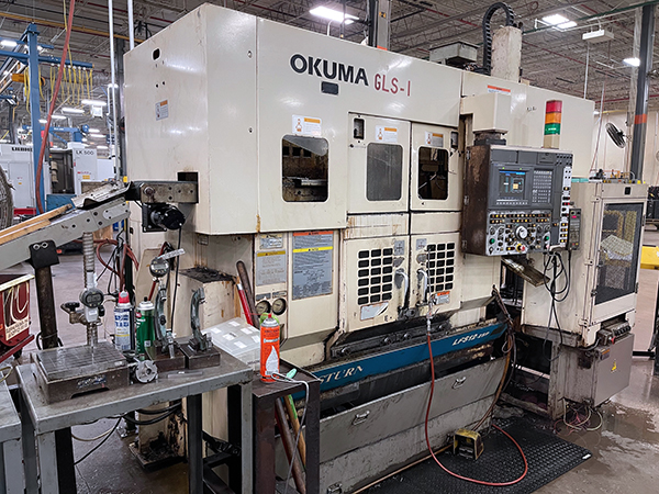 Used CNC Turning Center Okuma LFS12-2SP 2000