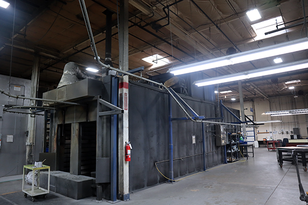 Used Finishing Machine Sherwin Williams Powder Coating Line -