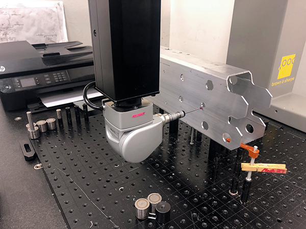 Used Coordinate Measuring Machine Brown & Sharpe Mistral 7-7-5 2014