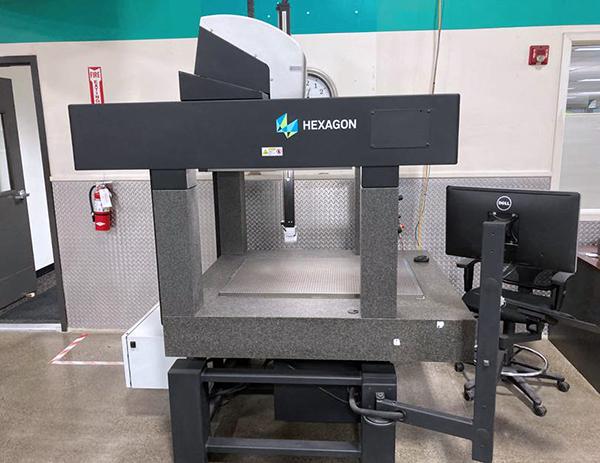 Used Coordinate Measuring Machine Hexagon SF 7 10 7 2016