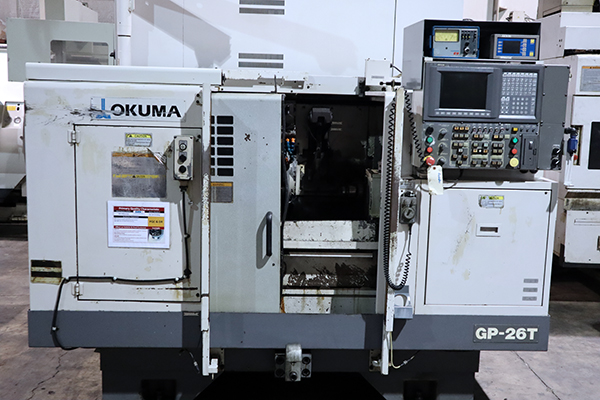 Used Cylindrical Grinders Okuma GP-26T 2008