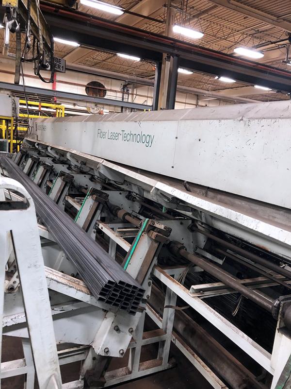 Used Fiber Laser Cutting Machine  BLM Adige LT722D Fiber 2011