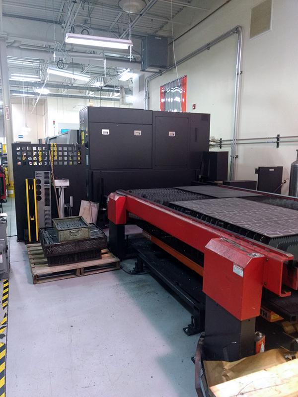 Used Fiber Laser Cutting Machine  Amada Ensis 3015AJ 2kw Fiber 2017