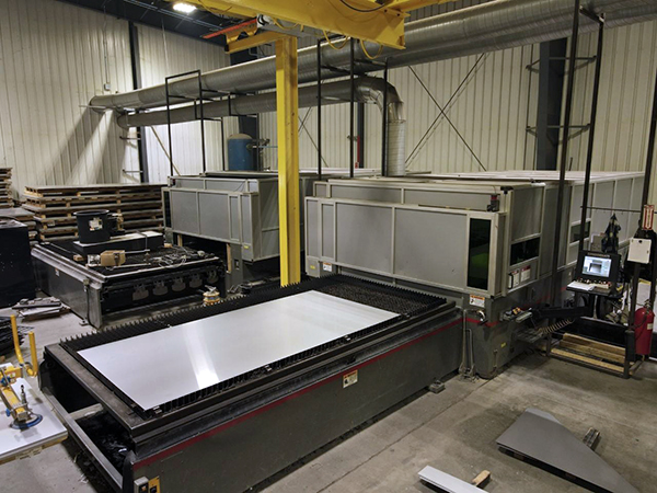 Used Fiber Laser Cutting Machine  Cincinnati CL940 4kw Fiber 2014