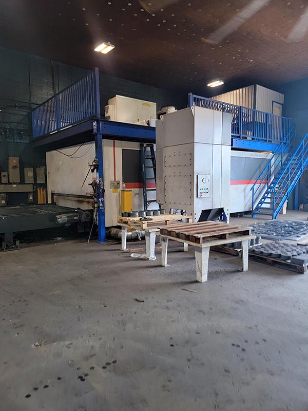 Used Fiber Laser Cutting Machine  HGTECH Marvel 8000 2020