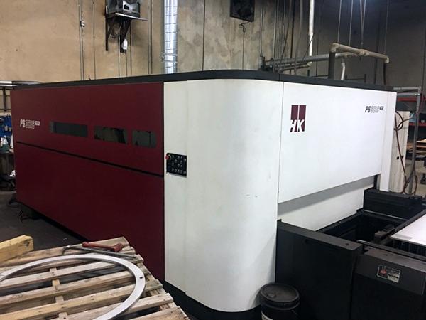 Used Fiber Laser Cutting Machine  HK PS3015 6KW Fiber 2017