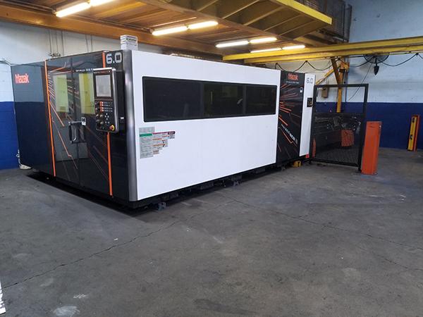 Used Fiber Laser Cutting Machine  Mazak OPTIPLEX 6KW FIBER 2016