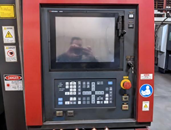 Used Fiber Laser Cutting Machine  Mitsubishi ML3015NX-F40 2015