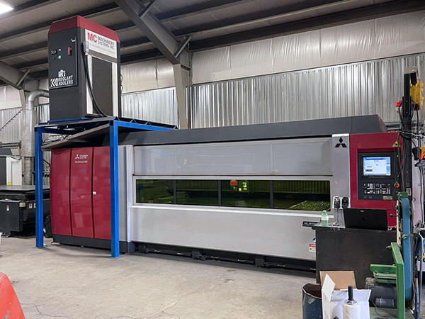 Used Fiber Laser Cutting Machine  Mitsubishi ML3015EX-F60 6KW FIBER 2016
