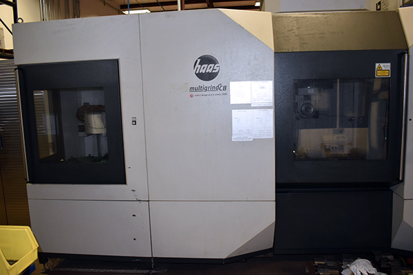 Used Grinding Center Haas Multigrind CB 2009