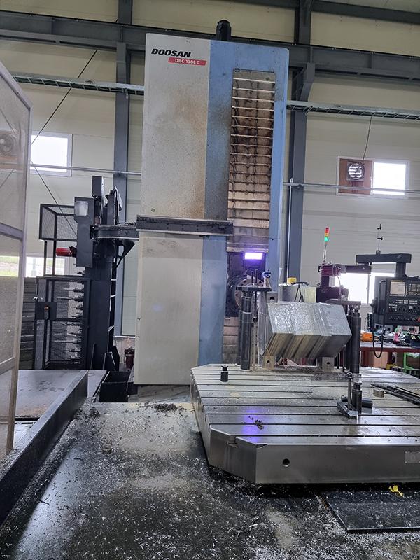 Used Horizontal Boring Mill Doosan DBC-130L II 2013