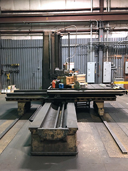 Used Horizontal Boring Mill Giddings & Lewis 340T 1955