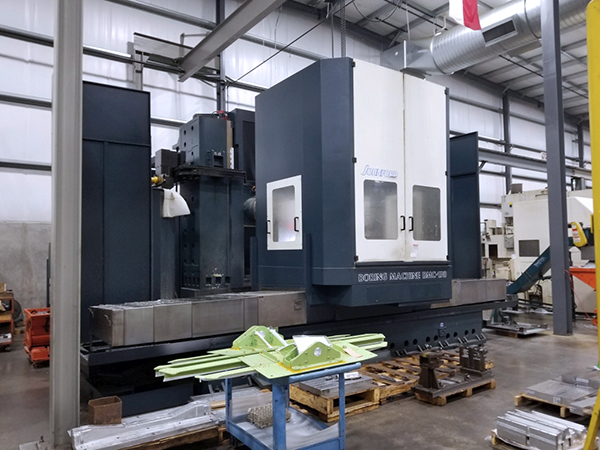 Used Horizontal Boring Mill Johnford BMC-130 2012