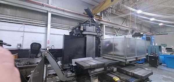 Used Horizontal Boring Mill Kuraki KBT-11DX 1989