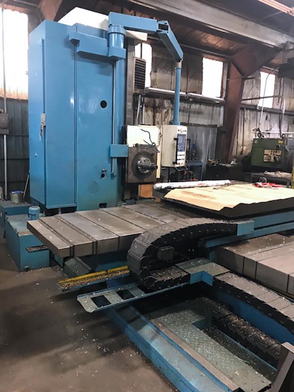 Used Horizontal Boring Mill WMW BMT105-035M