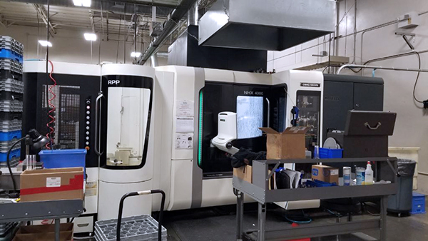 Used Horizontal Machining Center DMG Mori NHX-4000 2015