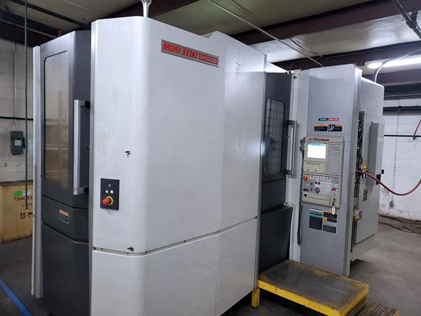 Used Horizontal Machining Center DMG/Mori Seiki NHX 5000 2012