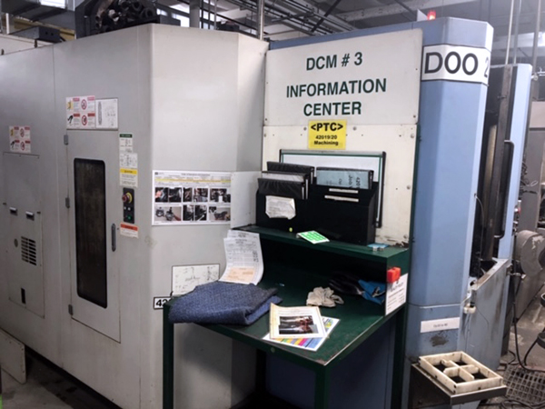 Used Horizontal Machining Center Doosan HP-4000 2008