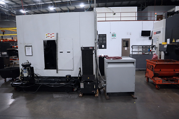 Used Horizontal Machining Center Doosan HP5100 2008