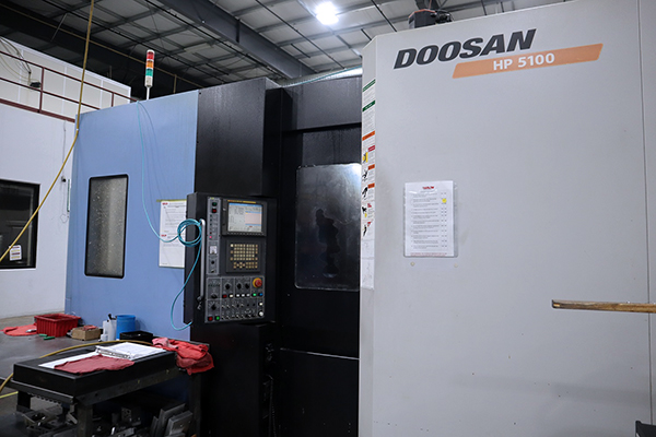 Used Horizontal Machining Center Doosan HP5100 2008
