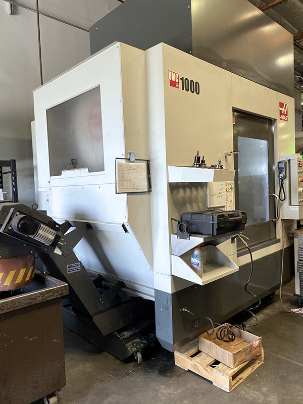 Used 5 Axis Machining Center Haas UMC 1000 2019