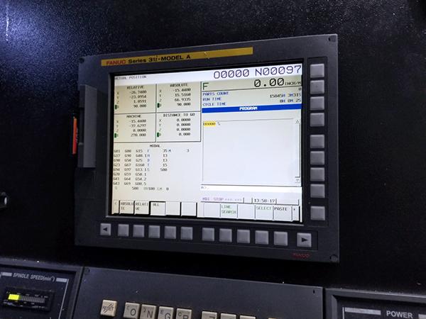 Used Horizontal Machining Center Hyundai WIA KH1000 2014