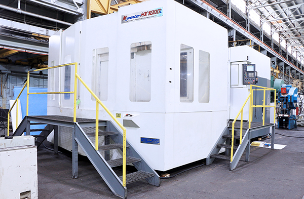 Used Horizontal Machining Center Kitamura Mycenter HX1000i 2011