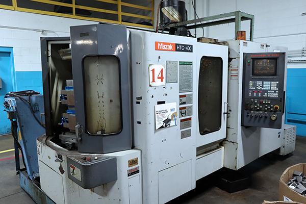 Used Horizontal Machining Center Mazak HTC-400 1998