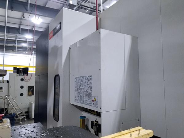 Used Horizontal Machining Center Mazak Nexus HCN6000-II 2009