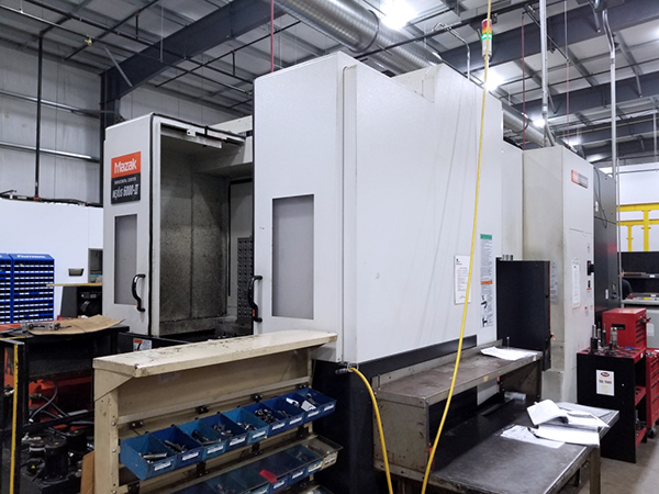 Used Horizontal Machining Center Mazak Nexus HCN6000-II 2009