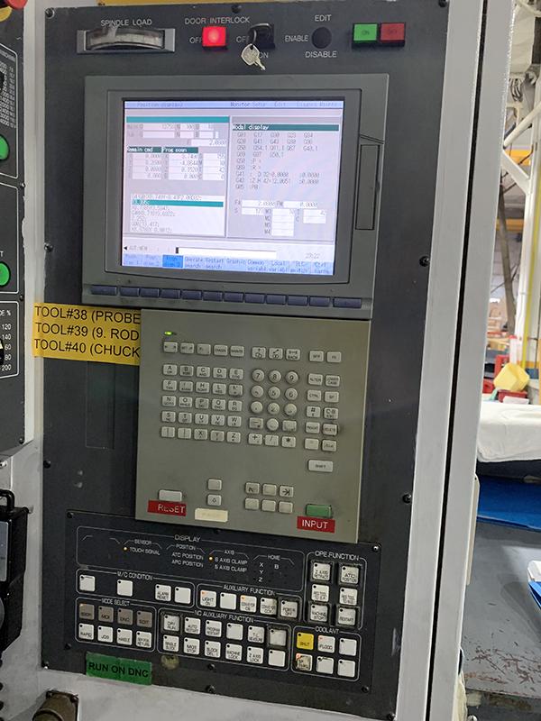 Used Horizontal Machining Center Mitsubishi M-H80EN 2000