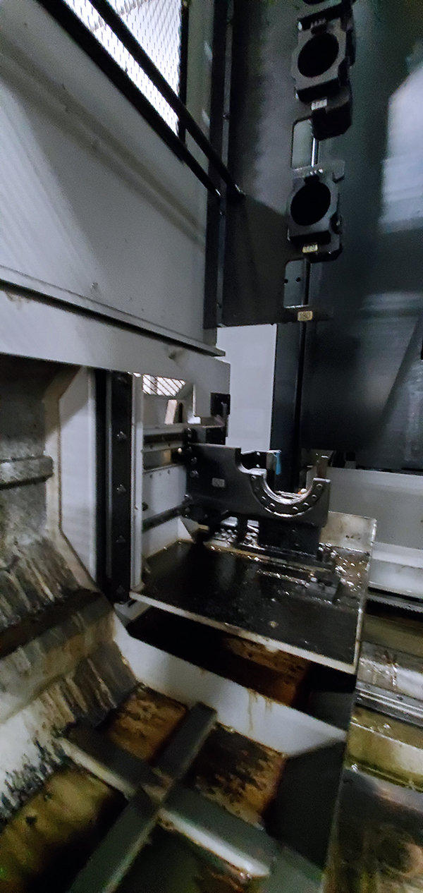 Used Horizontal Machining Center Mori Seiki NH6300DCGII (2) 2011/2007