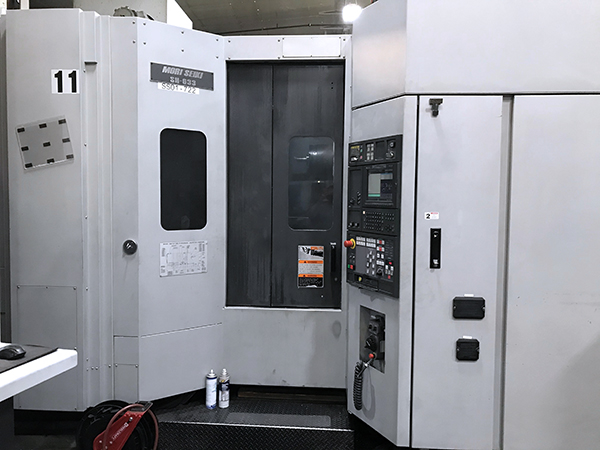 Used Horizontal Machining Center Mori Seiki SH-633 2003
