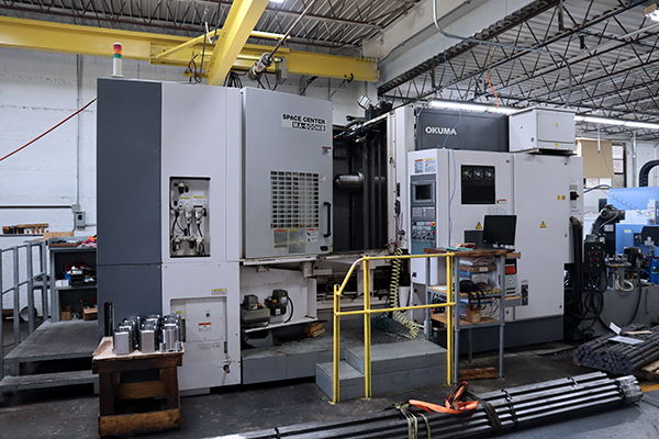 Used Horizontal Machining Center Okuma MA-600HB 2004