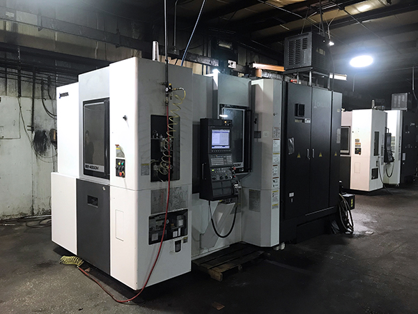 Used Horizontal Machining Center Okuma MB-4000H 2018