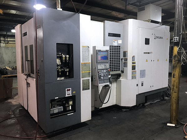 Used Horizontal Machining Center Okuma MB-5000H 2011