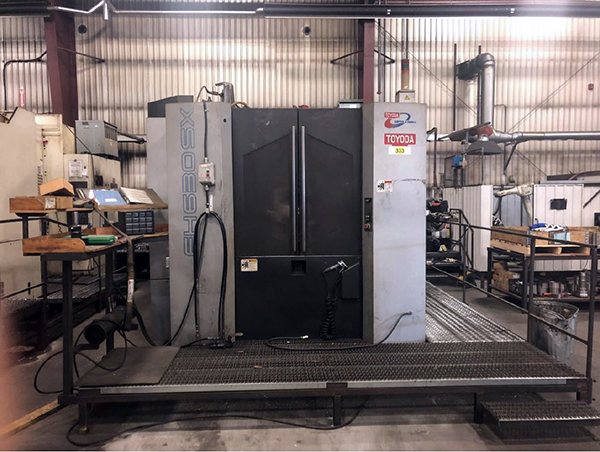 Used Horizontal Machining Center Toyoda FH630SX 2008