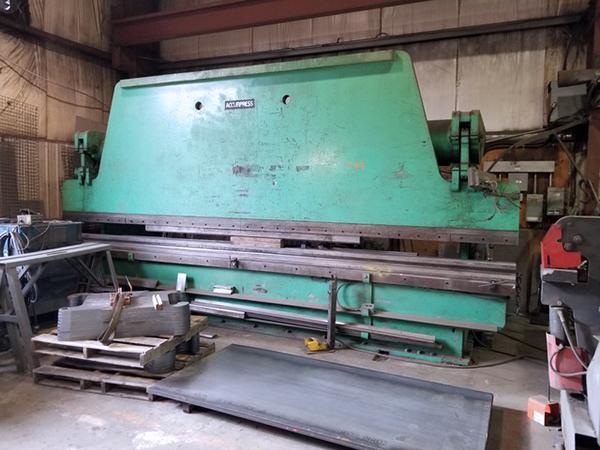 Used Hydraulic Press Brake Accurpress 250-20